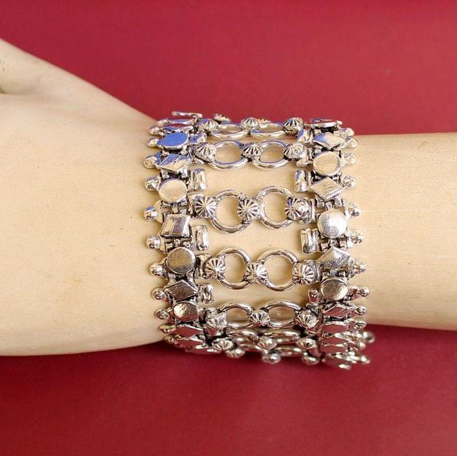 German Silver Trendy Bracelet