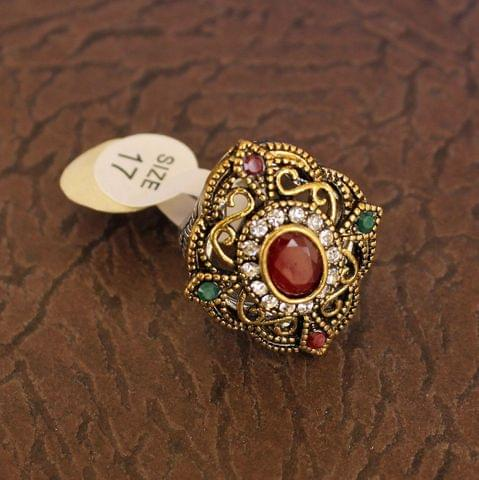 Designer Victorian Finger Rings Multicolor