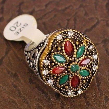 Designer Victorian Finger Rings Multicolor