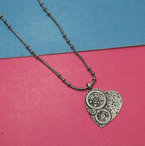 German Silver Chain with Pendant