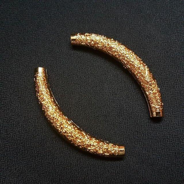 Golden Hasli 2.5 inch , 9mm 1 pair