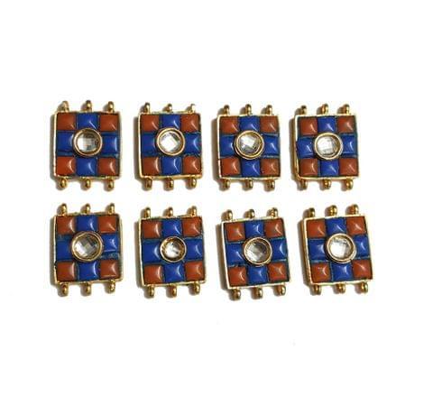 7 pcs Blue Color Spacers 30x22mm