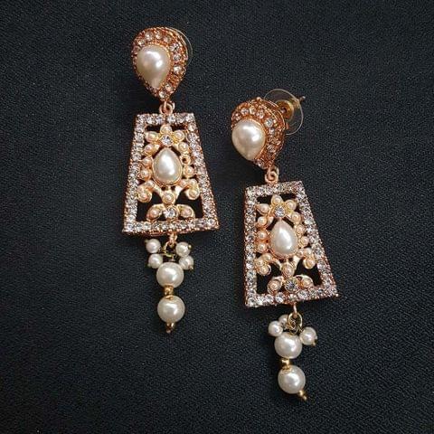 Designer Moti Earrings For Girls / Women