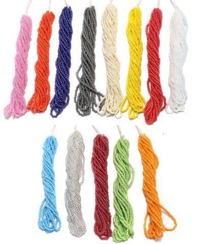 13 Bunch of Preciosa Seed Bead Strings 11/0 Opaque Luster Combo Multicolor