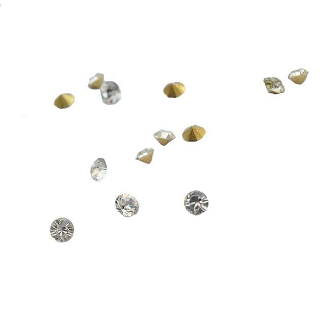 Foppish Mart  Small Diamond Rhinestones- 300 Pieces