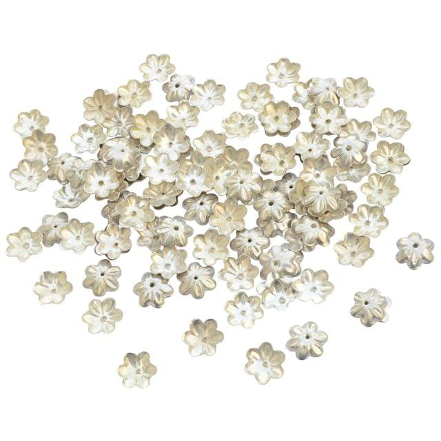 Small Floral Bead Cap Fillers for Jewellery Making_50pieces