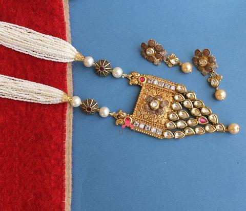 Kanika Kundan Necklace Set