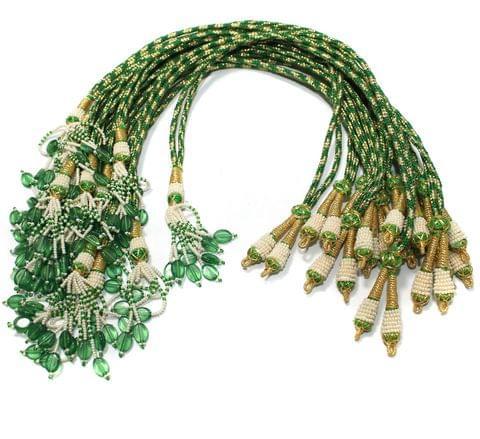 1 Dozen Zari Necklace Dori Green