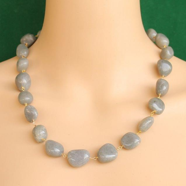 Designer Handmade Gemstone Beaded Necklace