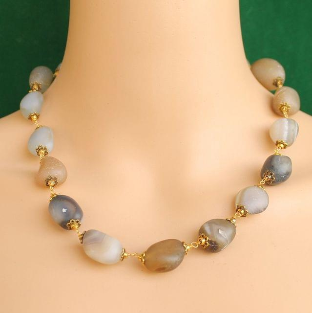 Designer Handmade Gemstone Beaded Necklace