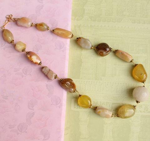 Assorted Gemstone Necklace