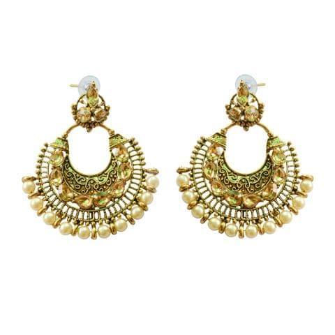 Foppish Mart Pearl Desire Earrings For Women
