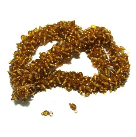Loreal Glass Beads Yellow 4mm For Earring, Necklace and Bracelet