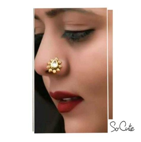 Golden Copper Indian Nose Ring