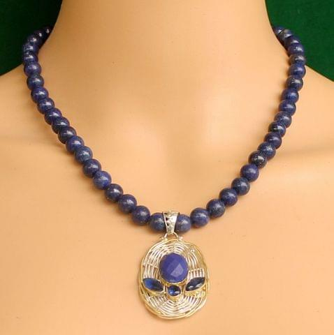 Lapis Gemstone Necklace for self awareness Pendant
