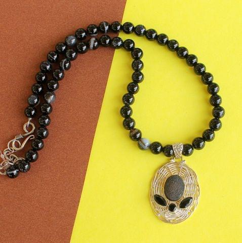 Sulemani Hakik Gemstone Pendant Necklace for Healing and positive energy