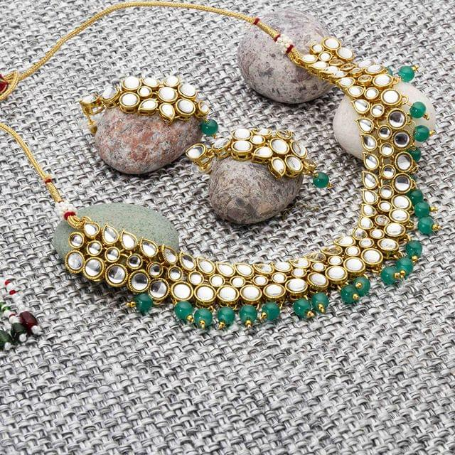 Sanskriti Kundan Necklace Set