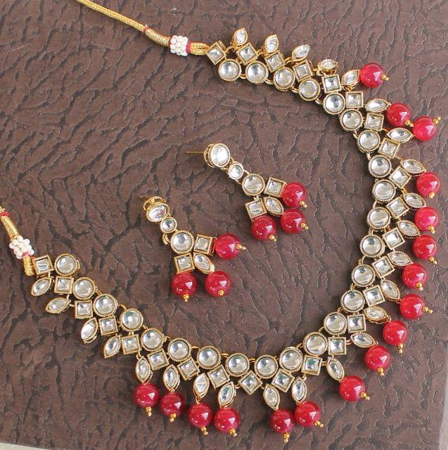 Ruhi Kundan Necklace Set