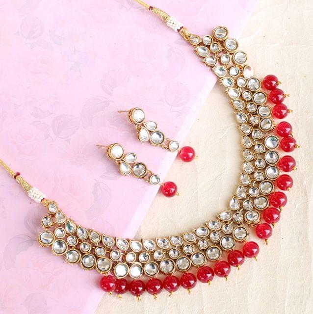 Akriti Kundan Necklace Set