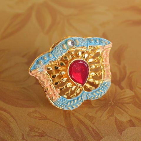 Abhira Adjustable Finger Ring