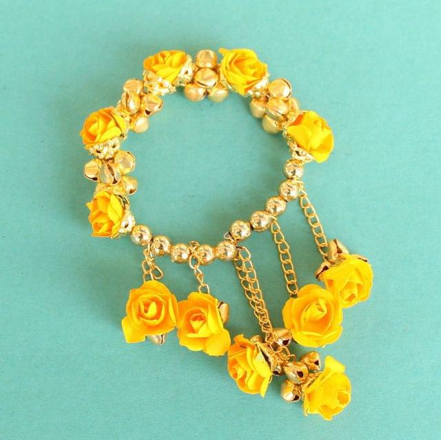 Anandi Flower Bracelet Yellow