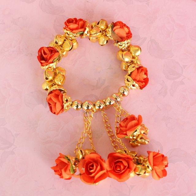 Anandi Flower Bracelets Orange