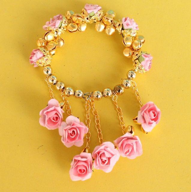 Anandi Flower Bracelets Pink