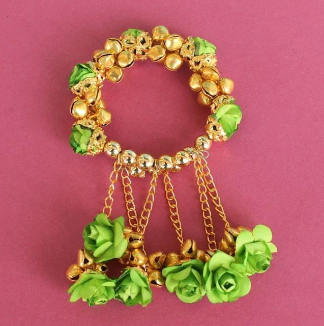 Anandi Flower Bracelets Peridot