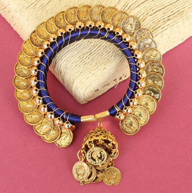 Suvali Silk Thread Coin Bracelet
