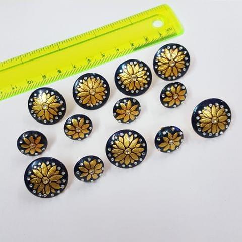Designer Handcufflinks, Buttons, 22mm 16mm,  13pcs set