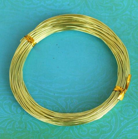 10 Mtrs Aluminium Colored Wire 1mm(18 Gauge)