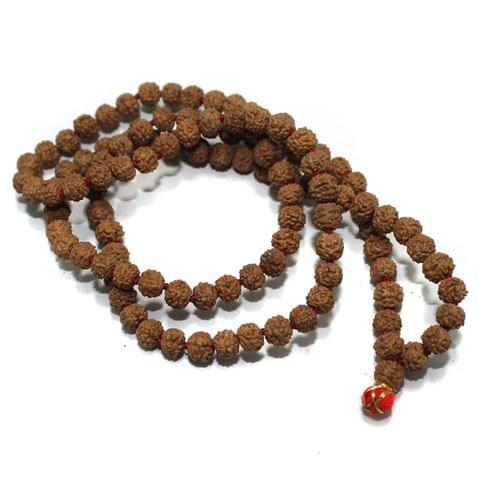 109 Beads Wooden Rudraksh Beads Mala 4mm