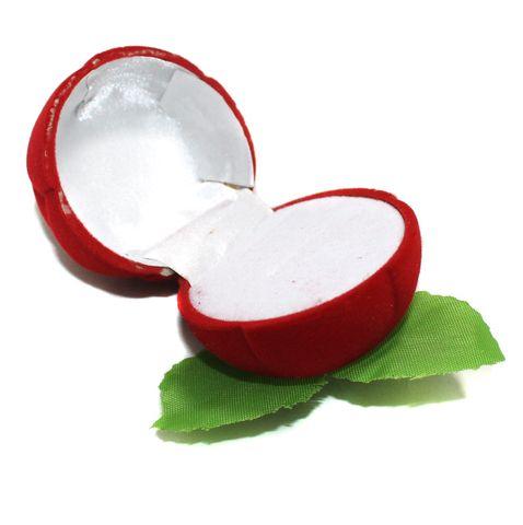 Fancy Finger Ring Box Rose Shape 1 Pc