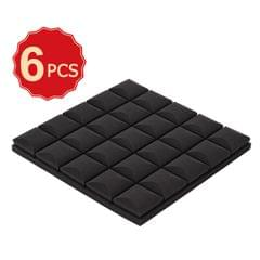 6 Pack Set Acoustic Foam Panels High Density Soundproof