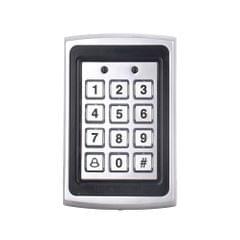 RFID Metal Access Control Card Reader Keypad 2000 Users