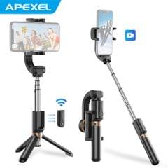 APEXEL APL-D6 4-Section Single Axis Handheld Gimbal