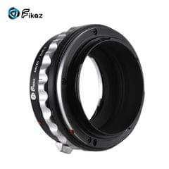 Fikaz High Precision Lens Mount Adapter Ring Aluminum Alloy - NIKG-EOSR