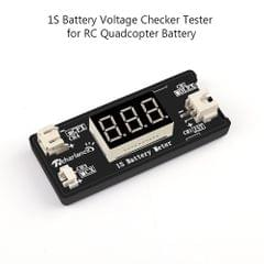 1S LiPo Battery Voltage Checker Tester for Drone Quadcopter
