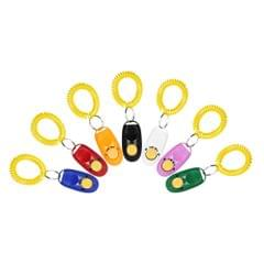 New 7 Pack Pet Dog Training Clicker Trainer Aid Wrist