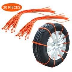 Car Tire Anti-skid Strap 10*910mm Vehicle Tyre Non-slip Zip