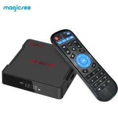 Magicsee N5 NOVA Smart Android 9.0 TV Box RK3318 Quad Core - UK Plug