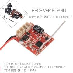 Receiver Board RC Helicopter Part for WLtoys V911S RC