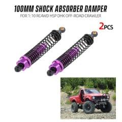 2pcs Shock Absorber Damper 100mm RC Car Parts for 1:10 RC4WD - 2PCS