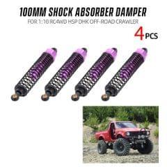 4pcs Shock Absorber Damper 100mm RC Car Parts for 1:10 RC4WD - 4PCS