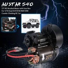 AUSTAR 540 27T RC Brushed Motor with Gear Box for 1/10 Axial
