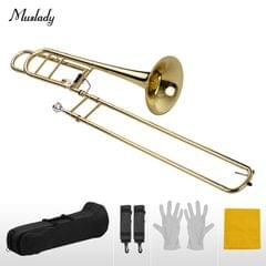 Muslady Upgraded Intermediate Bb Flat Tenor Slide Trombone
