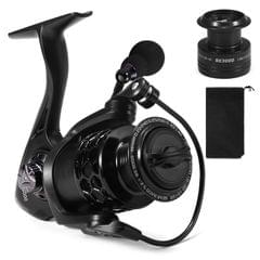 13+1BB Fishing Reel Smooth Spinning Reel with Spare Plastic - BE3000