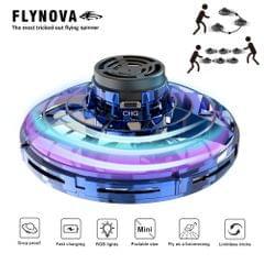 Flynova UFO Fingertip Upgrade Flight Gyro Flying Spinner