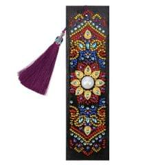 5D Special Shaped Diamond Leather Book Marker with Tassel - 2