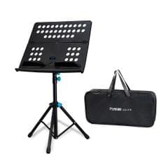 Folding Portable Sheet Music Stand Shelf Kit 3-Level